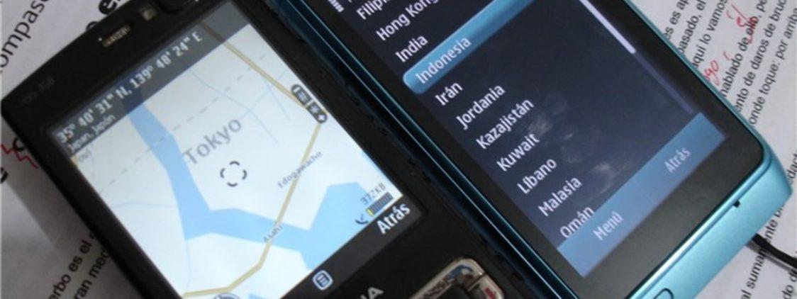 Ovi Maps continúa sin tener mapas de Japón.
